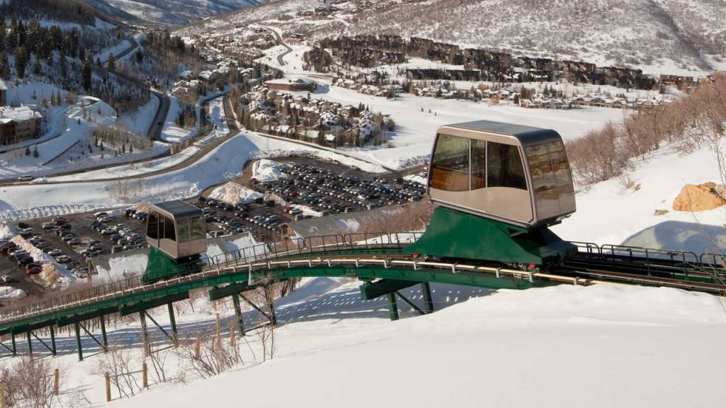 The St. Regis Deer Valley Funicular Cars