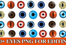 Photo of 100+Eyes Png Effect For Picsart and Photoshop 2018 New Collection