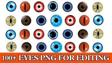 Photo of 100+Eyes Png Effect For Picsart and Photoshop 2020 New Collection