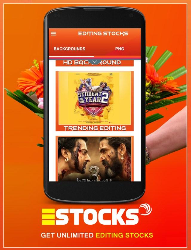 Editing stocks App