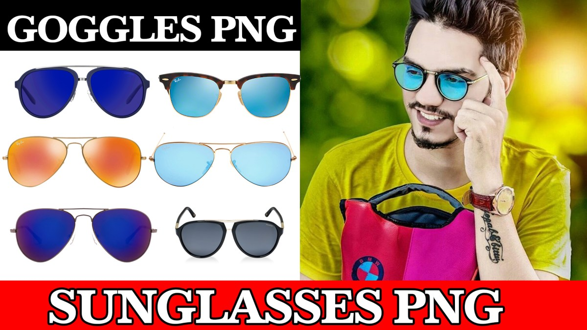 Sunglasses PNG For Picsart And Photoshop Editing New Collection 2018