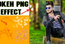Photo of HD Bokeh Png Effect For Picsart And Photoshop New Collection