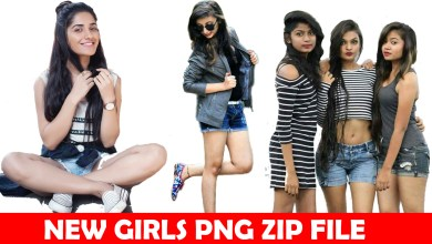 Photo of Girls Png Download | HD CB Girls Png Zip File Download
