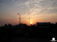 Sunset at Jammu. #Nofilters
