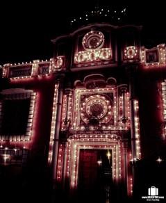 Raghunath Temple at night