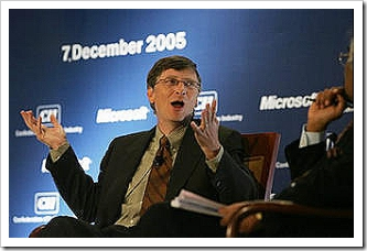 Bill Gates in Bangalore