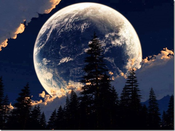 amazing picture of moon. you should love it