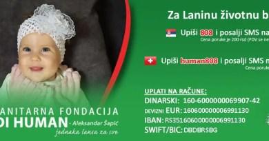Хуманитарни базар у Сремским Карловцима за лечење Лане Јовановић