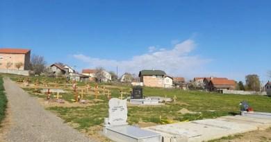 Прво поље на проширеном делу Чератског гробља готово пуно