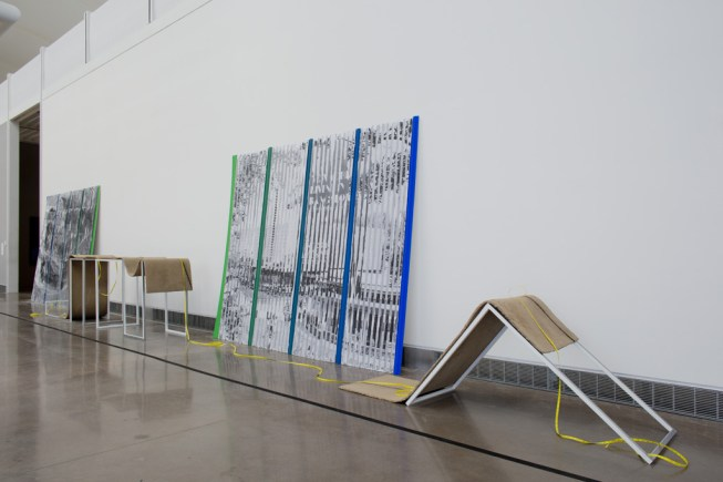 "Installation view of ""Plot"" at Queens Museum of Art, NY"