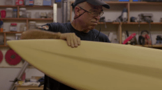 The Surfboard Maker Chet Frost