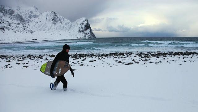 Surfing Norway