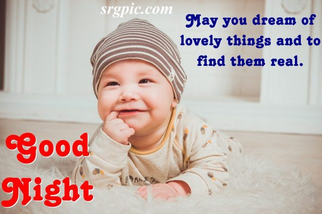babe-saying-good-night-with-quotes