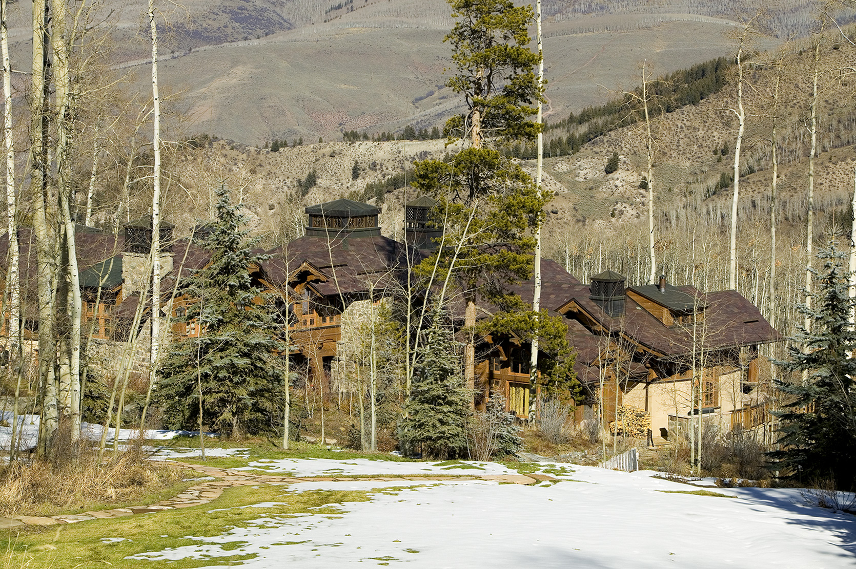 Strawberry Park, Beaver Creek, Colorado