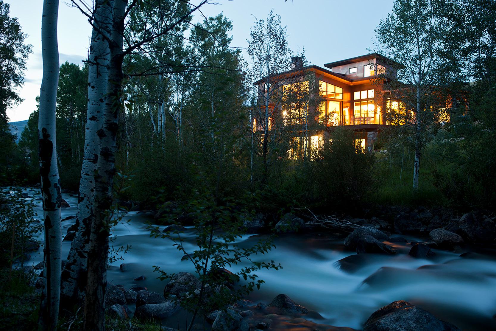 Lake Creek, Vail Valley, Colorado