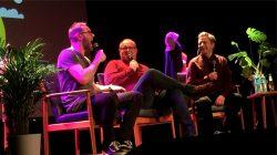 Radioresepsjonen hadde et fantastisk show i Aulaen på NHH (Foto: Privat)