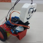 Arduino-Uno-Robot-Front-View-With-Ultrasonic-Sensor