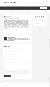 How to show one full post, author box and comment form on homepage in Genesis