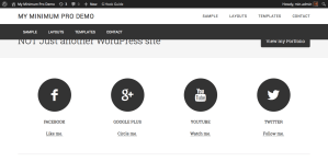 How to make Header and Primary Nav fixed in Minimum Pro
