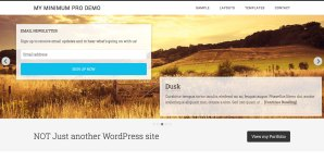 How to overlay opt-in form on Genesis Responsive Slider in Minimum Pro