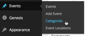Adding Categories support to a Custom Post Type in WordPress