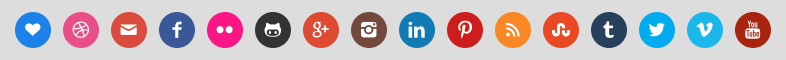 simple-social-icons-color