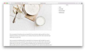 How to make last widget in the sidebar sticky on scroll in Foodie Pro