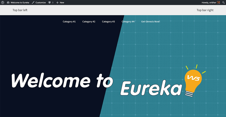 eureka-static-html-to-genesis-day1