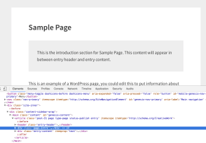 How to add content between entry header and entry content in Genesis