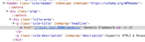 Conditional site title links in Genesis