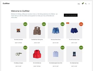 How to display WooCommerce products on Outfitter Pro's homepage in columns