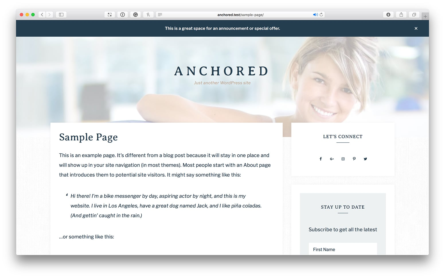 Custom Background Image For Site Header Using Acf In Anchored Sridhar Katakam