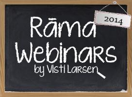 RAMA Webinars 2014