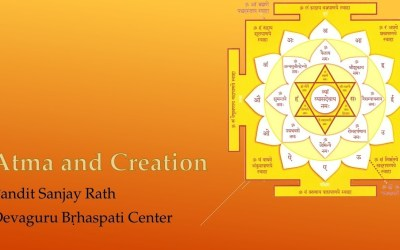 Ātma and Creation – Pandit Sanjay Rath