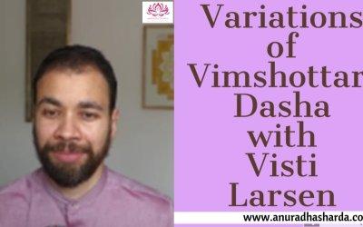Variations of Vimshottari Dasha (3/4)