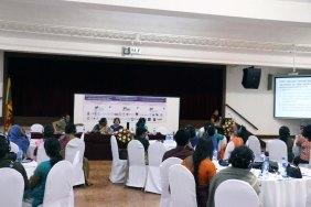 Ranitha Gnanarajah representative from FOKUS Women