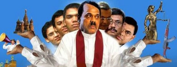 Image result for rajapaksa family cartoons