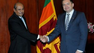 Slovak Deputy Prime Minister and Minister of Finance arrives in Sri Lanka on a two day official visit
