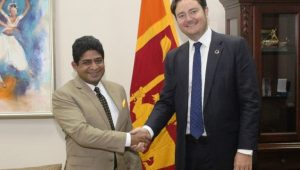 NORWEGIAN STATE SECRETARY FOR DEVELOPMENT COOPERATION VISITS SRI LANKA