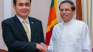 Official Visit of His Excellency General Prayut Chan-o-cha, Prime Minister of the Kingdom of Thailand to the Democratic Socialist Republic of Sri Lanka