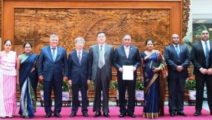 SRI LANKA BECOMES A MEMBER OF THE CONFERENCE ON INTERACTIONS AND CONFIDENCE BUILDING MEASURES IN ASIA (CICA)