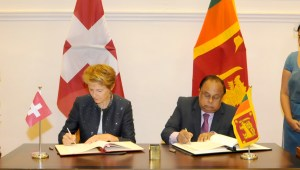 FORGING STRONGER TIES BETWEEN SWITZERLAND AND SRI LANKA