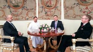 Sri Lankan Ambassador to Poland C.A.H.M Wijeratne Presents Credentials