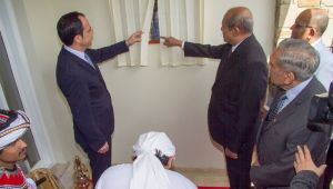 FOREIGN MINISTER TILAK MARAPANA REAFFIRMS COMMITMENT TO CONSOLIDATE THE SRI LANKA –CYPRUS BILATERAL ENGAGEMENT AND OFFICIALLY INAUGURATES THE CONSULATE GENERAL OF SRI LANKA IN NICOSIA