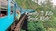 Book Train Ticket Sri Lanka