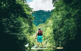"Stand Up Paddleboard ""SUP""  Sri Lanka Jungle River Adventure"