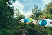 "Stand Up Paddleboard ""SUP"" Sri Lanka Jungle River Adventure"