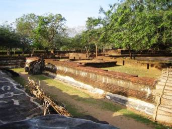 Sacred Quadrangle Vatadage Polonnaruwa Sri Lanka 11