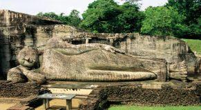 Sacred Quadrangle Vatadage Polonnaruwa Sri Lanka 21