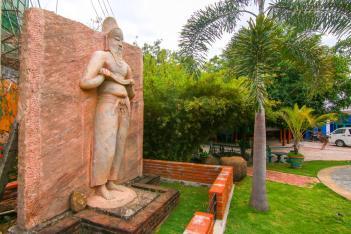 Sacred Quadrangle Vatadage Polonnaruwa Sri Lanka 26